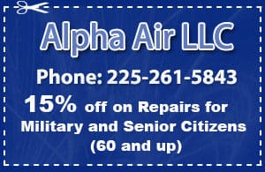 Affordable Air Conditioning Repair Baton Rouge