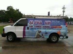 air conditioning repair baton rouge-van