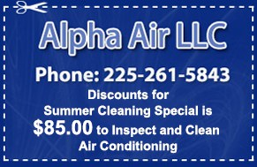 Best Affordable Air Conditioning Repair Baton Rouge